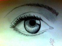 Augen, Zeichnungen