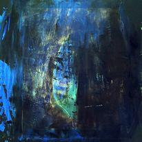 Landschaft, Höhle, Blau, Spannung