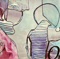 Collage, Vogel, Freiheit, Lebensglück