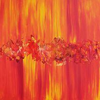 Gelb, Rot, Explosiv, Feuer