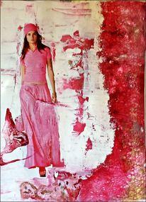 Mischtechnik, Pink