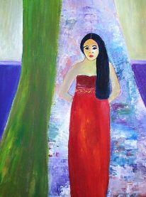 Malerei, Vorhang