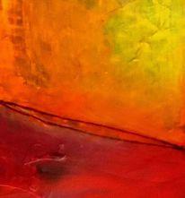 Abstrakt, Rot, Gelb, Fantasie