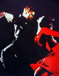 Andalusien, Tanzpaar, Weiblich, Flamenco