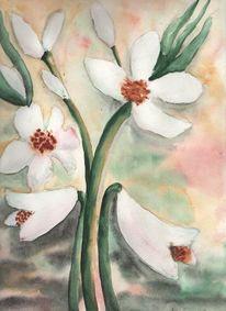 Blumen, Aquarell