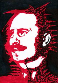 Weiß, Rot schwarz, Liebknecht, Tod