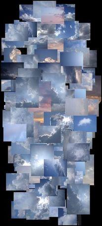 Himmel, Blau, Wolken, Regenwolken