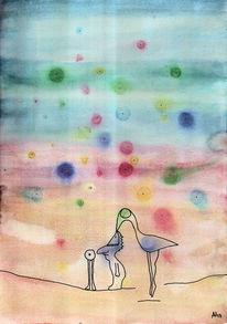 Traum, Unbewußtsein, Vogel, Kopf