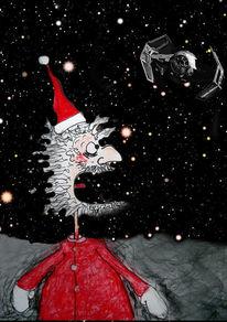 Weihnachten, Rudi, Darth vader, Rednosed