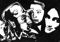 Schwarz weiß, 3frauen, Filmnoir, Mitchum