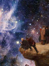 Kant, Stern, Meer, Menschen
