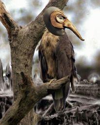 Maske, Harpyie, Nsa, Seeadler