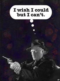 Wünsch, Waffe, Film noir, Illustrationen