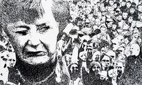 Merkel, Menschen, Meinung, Illustrationen