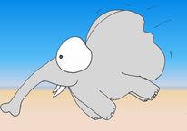 Jisbert, Spielen, Dumbo, Illustrationen