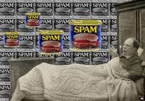 Traum, Spam, Mail, Spamspam