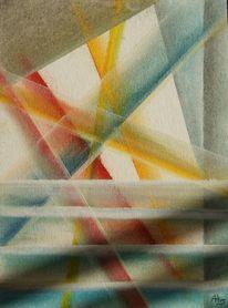 Pastellmalerei, Waking, Malerei,