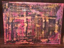 Acrylmalerei, Abstrakt, 2013, Modern