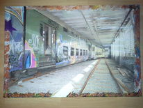 Bahn, Zug, Ddr, Malerei