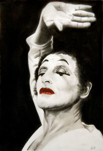 Marceau, Gesicht, Hand, Pantomime