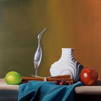 Gemälde, Stille, Portrait, Ölmalerei