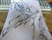 Flügel, Zeichnungen