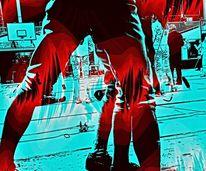 3d, Farben, Sportler, 2013