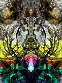 Wasserfarben, Elemente, Farben, Makro