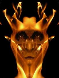 Reflexion, Komposition, Fantasie, Feuer