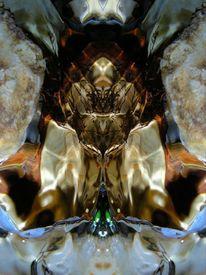 Spiegelbild, Reflexion, Lichtspiel, Fantasie