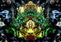 Lichtspiel, Reflexion, Elemente, Spiegelbild