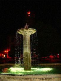 Wasser nacht wasserspiel, Fotografie