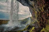 Island, Wasserfall, Fotografie