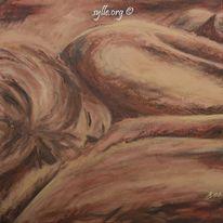 Malerei, Menschen, Traum