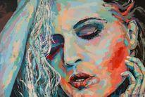 Acrylmalerei, Gemälde, Zeitgenössisch, Palette
