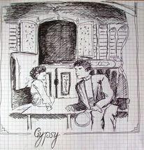 Freundschaft, Zeichnungen