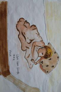 Baby, Copic, Illustrationen, Copic marker