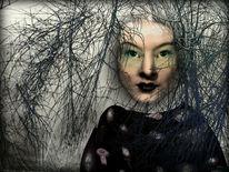 Expressionismus, Himmel, Portrait, Nouveau