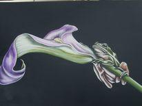 Malerei, Tiere, Acrylmalerei, Blüte
