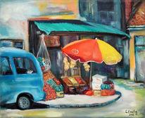 Ölmalerei, Malerei, Geschäft, Prizren
