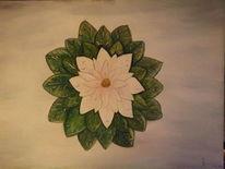 Blumen, Ölmalerei, Pflanzen, Malerei