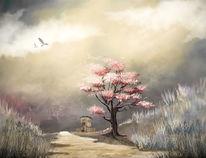 Himmel, Schatten, Fantasie, Landschaft