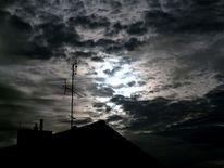 Dach, Himmel, Wolken, Fotografie