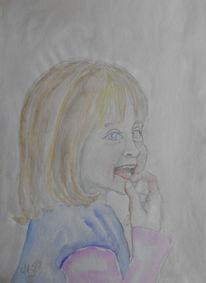 Aquarellmalerei, Portrait, Pastellmalerei, Aquarell