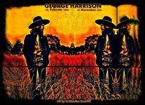 The beatles, Rocklegende, George harrison, Felsen