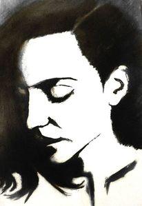 Licht, Ölmalerei, Frau, Menschen