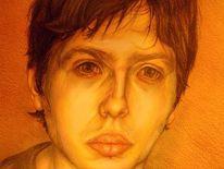 Realismus, Selbstportrait, Portrait, Zeichnungen