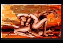 Kunstdruck, Wandbild, Erotik, Abstrakt
