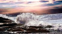 Sonne, Ozean, Küste, Natur