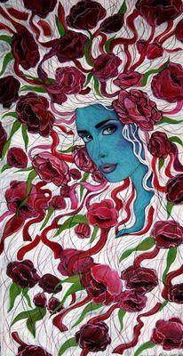 Blumen, Wesen, Liebe, Pione